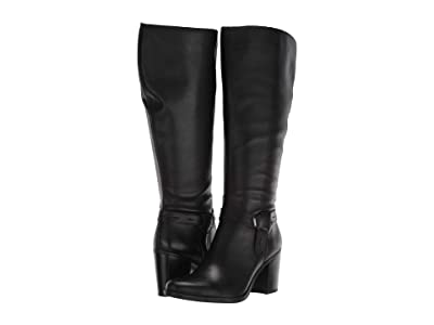 Naturalizer Kamora Wide Calf (Black Leather WC) Women