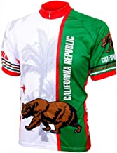California Flag Cycling Jersey