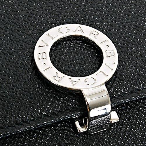 ブルガリBVLGARI財布長財布レディース二つ折りレザー本革BVLGARIBVLGARIブルガリブルガリブラック黒30416BLACKシンプル
