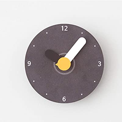 GuoEY Indoor Non-Ticking Silent Cute Wall Clock Quiet Sweep Movement Office Decor Wall Decor