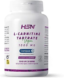 L-CARNITINE TARTRATE 1000mg - 120 veg caps