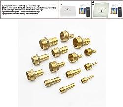 """10 Piezas tubo OD 6mm X 3//8 /""""BSP Macho Neumática Conector empuje en para conectar de montaje"""