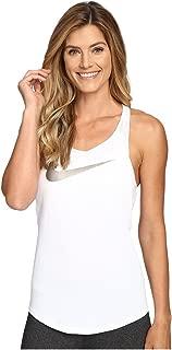 Flow Metallic Training Tank White/White/White/Metallic Pewter Women's Sleeveless
