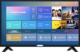 GeneralGold 32 Inch Smart DVB-S2 DVB-T2 Android TV
