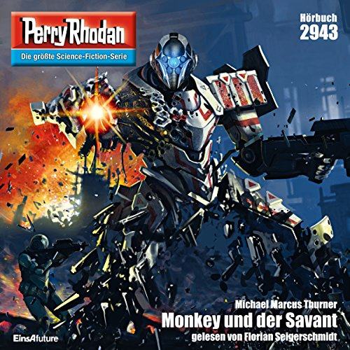 Monkey und der Savant (Perry Rhodan 2943) Titelbild