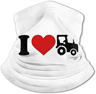 I Heart Tractor - Pasamontañas para niños con protección UV para el cuello, resistente al viento, multifunción, para niños...