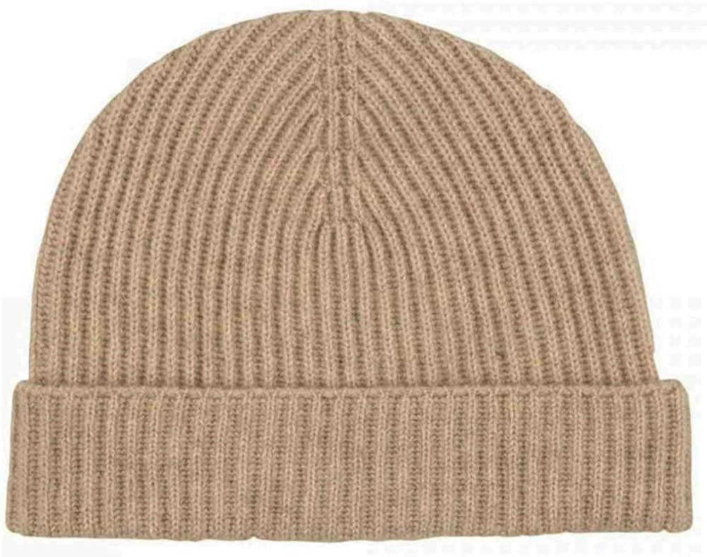 Fort Worth Mall Graham Cashmere Men's Unisex Pure Don't miss the campaign Rib Beanie