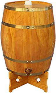 HWhome 5L/10L/15L/20L/30L Verticale Seau De Stockage De Whisky, Tonneau De Chêne, Tonneaux De Vin De Chêne Domestique for ...