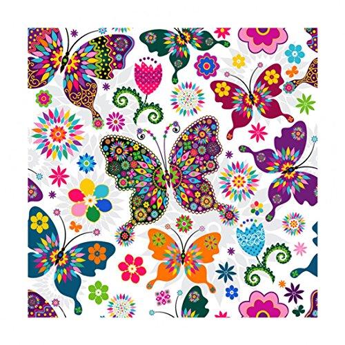 Fabal 5D Diy Diamond Painting Butterfly Embroidery Handmade Home Decor (B)