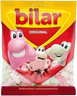 Ahlgrens Bilar - Soft Chewy Marshmallow Cars 125g - Pack of 6