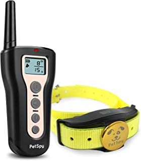 petspy dog training collar manual