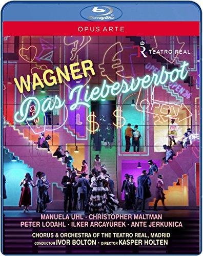 Wagner: Das Liebesverbot (Madrid, 2016) [Blu-ray]