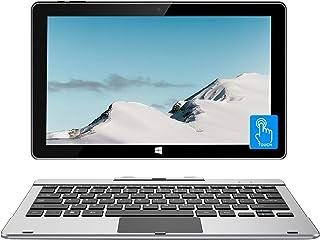 Jumperノートパソコンタッチスクリ6GB 64GB 11.6インチ/クアッドコアCeleron/ Windows 10/ USB3.0 / 2-in-1タブレットキーボード付き