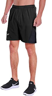 EZRUN Men's 7 Inch Quick Dry Running Shorts Workout Sport Fitness Short with Liner Zip Pocket