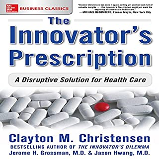 The Innovator's Prescription audiobook cover art