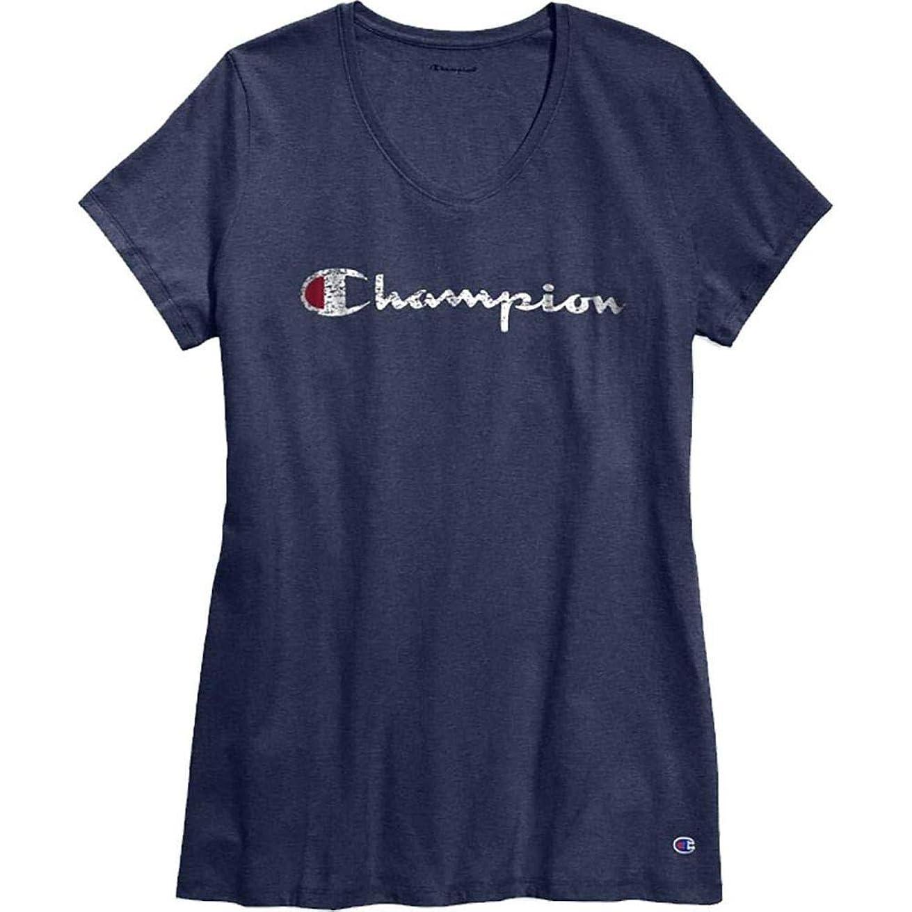 納屋サロン処方(チャンピオン) Champion レディース トップス Tシャツ Champion Plus Jersey Graphic T-Shirt [並行輸入品]