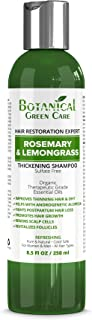 "Hair Growth/Anti-Hair Loss Sulfate-Free Shampoo""Rosemary & Lemongrass"". Alopecia Prevention and DHT Blocker. Doctor Developed. NEW 2018 FORMULA!"
