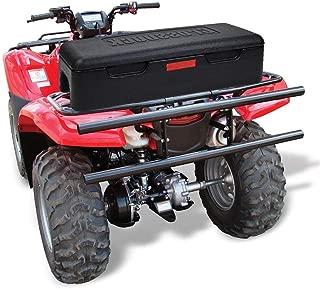 kemimoto Universal ATV Storage Boxs Front Rear Cargo Box Tool BoxTrail Box Black