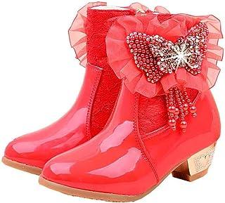 LOBTY bottes pour filles bottes pour enfants automne et hiver Nouvelles petites bottes en coton pour filles princesse ains...