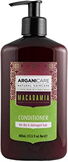 Arganicare Hydrating Macadamia Conditioner for Dry and Damaged Hair with Organic Argan and Macadamia Oil (13.5 Fluid Ounce)