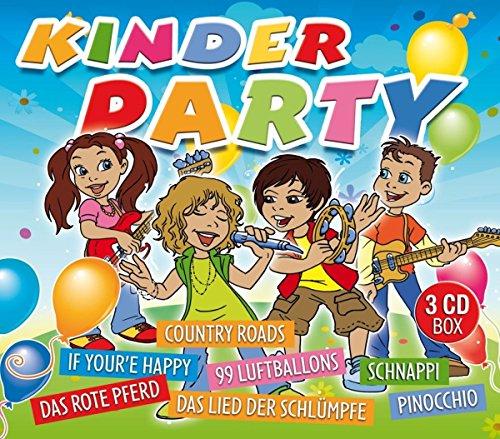 Kinderparty (Das rote Pferd, 99 Luftballons, Country Roads, Schnappi uvm)