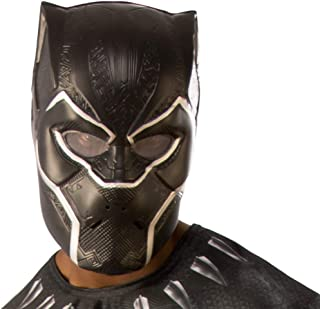 Rubie's Marvel: Avengers 4 Black Panther Adult Half-Mask Adult Costume