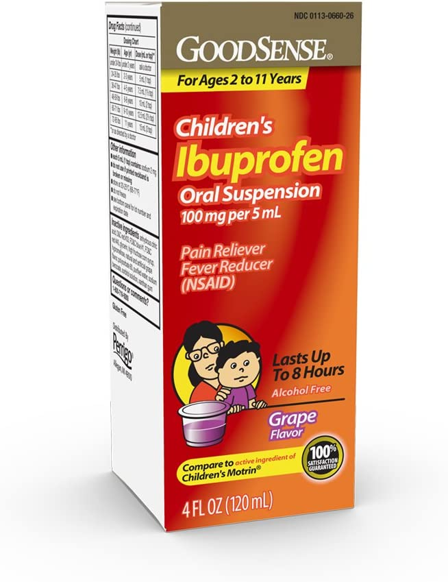 Selling rankings GoodSense Children's Ibuprofen Oral Suspension 5 mg Popular shop is the lowest price challenge per 100 mL