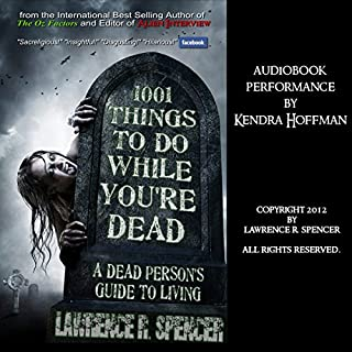 1001 Things to Do While You're Dead audiobook cover art