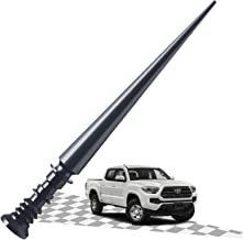 Elitezip Antenna Compatible with Toyota Tundra 1999-2018   Optimized AM/FM Reception with Tough Material   5.25 Inches - CarbonBlack