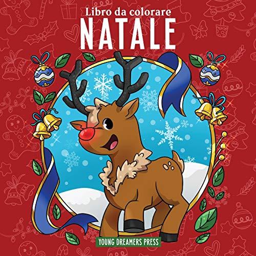 Libro da colorare Natale: Per bambini di 4-8, 9-12 anni