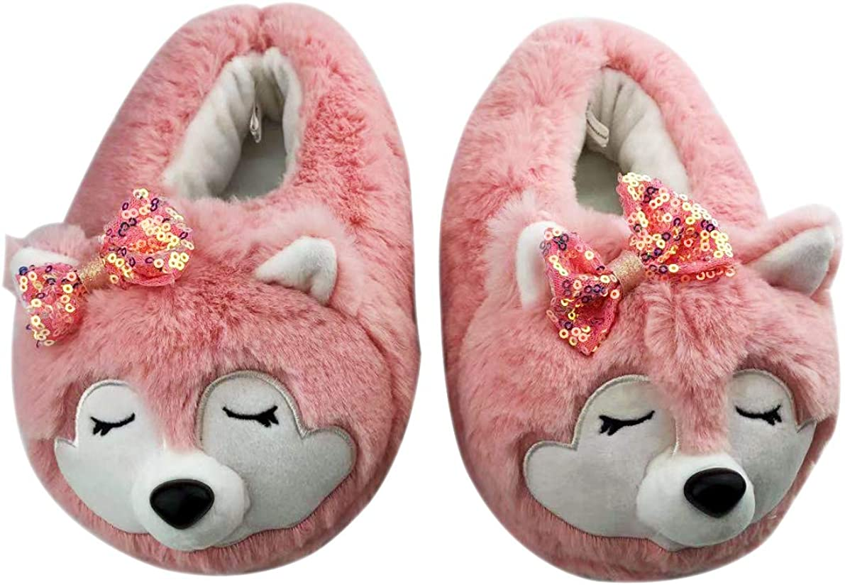 Mommy Me Direct sale of manufacturer Slippers Lovely Novelty 3D Popular brand in the world and Shape Panda Wo Fox Kid