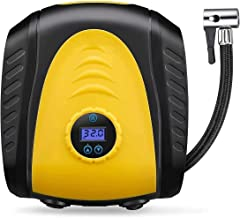 WGLL Air Compressor Tire Inflator - Portable DC 12V 150PSI Auto Air Pump with Preset Tire Pressure Automatic Stop, and for...