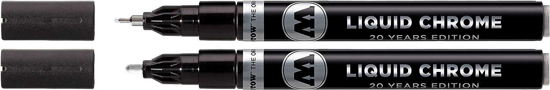 mejores rotuladores cromados molotow liquid chrome