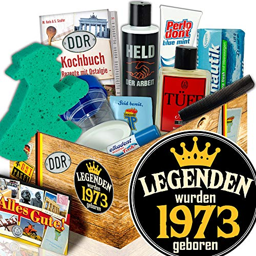 Geschenkbox 1973 / Männer Pflegeset DDR / Legenden 1973