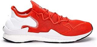Y-3 Man's Adizero Runner Red Mesh Fabric Sneaker