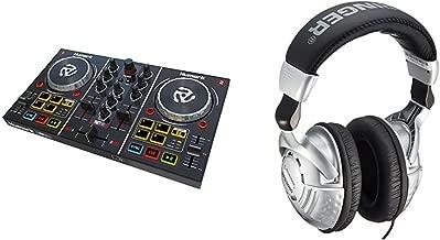 Numark Party Mix | Starter DJ Controller with Behringer Studio Headphones