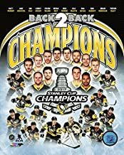Pittsburgh Penquins Sidney Crosby & Evgeni Malkin Team Collage! 2017 Stanley Cup Champion 8x10 Photo Collage Picture (coll)