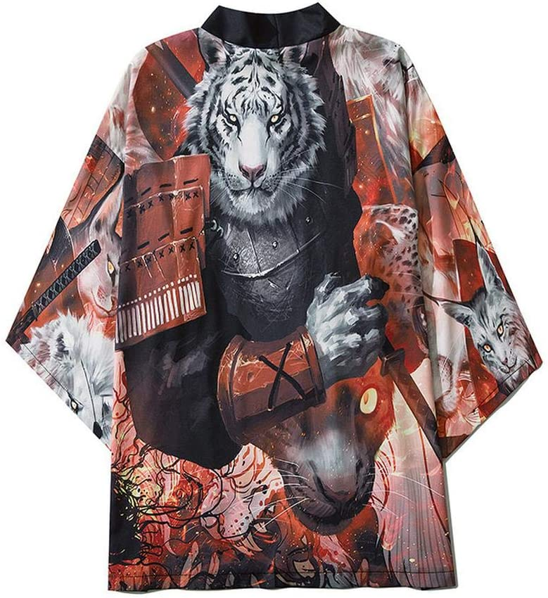 Yicaler Brand Cheap Sale Venue Men's Kimono Womens Cloak Jacke Directly managed store Japanese and H Robe Tops