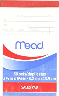 Mead Sales Pad With Duplicates, 50 Count (64804)