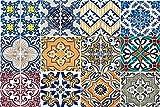 Cocina Protección antisalpicaduras Blanco Mármol | designersgroup | Cristal Acrílico | baldosas Protección para el Horno | Cocina | Cocina Azulejos | Azulejos Espejo | Posterior | 60 x 40 cm