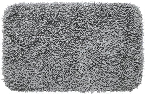 Gelco Design 707570 Tapis de Bain Fence Gris 50 x 80 cm