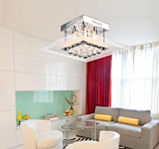 Beautiful Lamps/Modern Crystal Ceiling Lamp Living Room Bedroom Crystal Light Accessories Transparent Glass Ceiling Light Restaurant Decoration Light