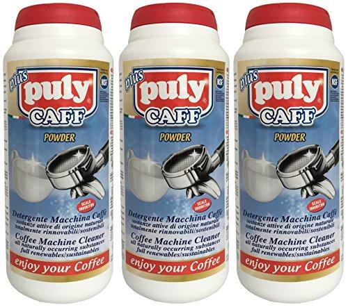 Puly Caff Detergente per macchine da caffè, caffè Fett Detergente (3X 900G)