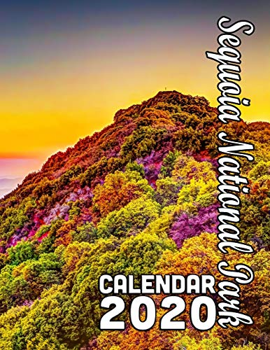 Sequoia National Park Calendar 2020: Beautiful Scenes of Gigantic Sequoia Trees and Other Wonders of the Park