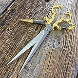 11' Gold Renaissance Scissors Dagger Medieval...