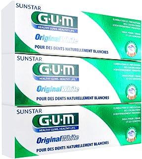 Gum Original White Toothpaste 3 x 75ml by Gum