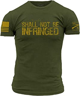 Grunt Style Shall Not Be Infringed T-Shirt Olive Green