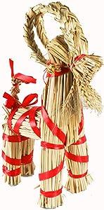 ScandinavianShoppe Straw Goat-Julbock - 12