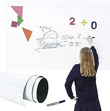 LSTK Pizarra Blanca Adhesiva de Pared Rollo Pizarra Adhesiva 44.5x200CM para Escuelas Oficinas Casas