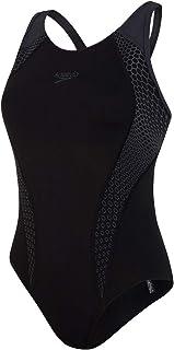 Speedo Women's Placement Laneback Swimsuit